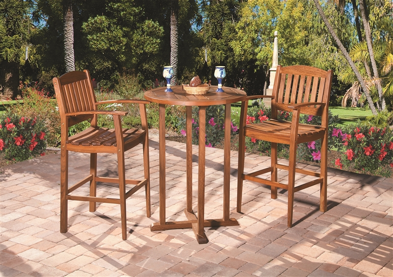 Wood Outdoor Furniture From Boonedocks Trading Company