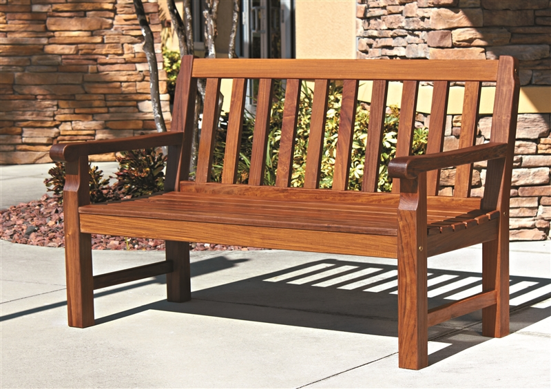 Wood outdoor furniture from boonedocks trading company for Wooden outdoor furniture